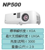 NEC NP500投影機-佳譽資訊股份有限公司